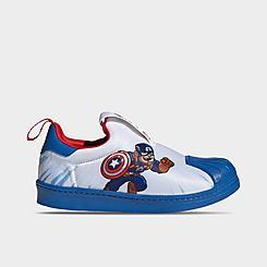 Boys' Little Kids' adidas Originals Superstar 360 Slip-On Casual Shoes