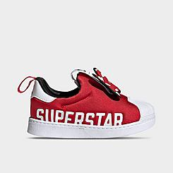 Girls' Toddler adidas Originals Superstar 360 X Casual Slip-On Shoes