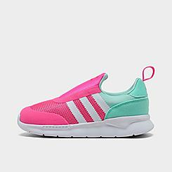 Girls' Toddler adidas Originals ZX 360 1 Slip-On Casual Shoes