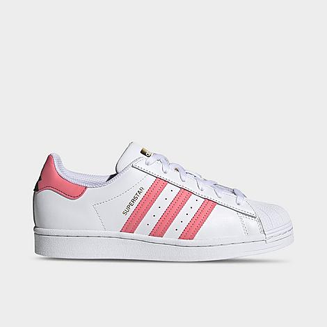 Adidas Originals Leathers ADIDAS WOMEN'S ORIGINALS SUPERSTAR CASUAL SHOES