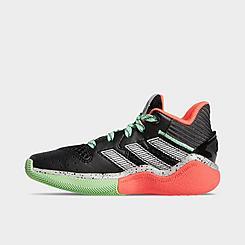 Boys' Little Kids' adidas Harden Step-Back Basketball Shoes