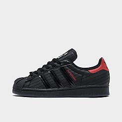 Boys' Big Kids' adidas Originals Superstar Star Wars Darth Vader Casual Shoes