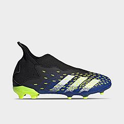Little Kids' adidas Predator Freak.3 Laceless Firm Ground Soccer Cleats