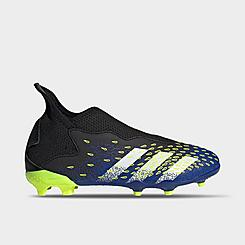 Big Kids' adidas Predator Freak.3 Laceless Firm Ground Soccer Cleats