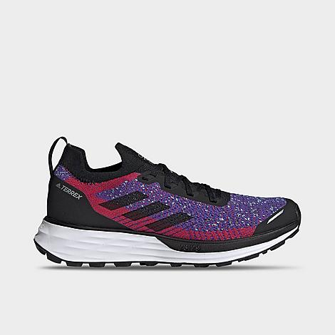 Adidas Originals ADIDAS WOMEN'S TERREX TWO PRIMEBLUE TRAIL RUNNING SHOES SIZE 10.5 KNIT/PLASTIC