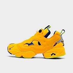 Men's Reebok x Minions Instapump Fury Casual Shoes