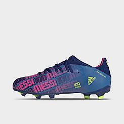 Big Kids' adidas X Speedflow Messi.3 Firm Ground Soccer Cleats