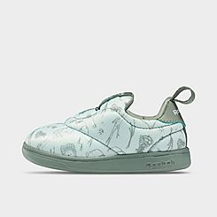 Kids' Toddler Reebok Classics Printed Club C Slip-On Casual Shoes