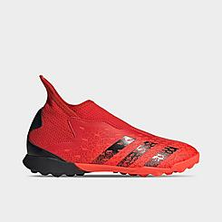 Big Kids' adidas Predator Freak .3 Laceless Turf Soccer Cleats