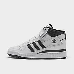 Men's adidas Originals Forum Mid Casual Shoes