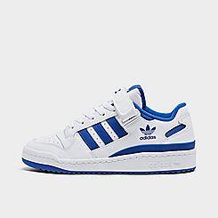 Big Kids' adidas Originals Forum Low Casual Shoes