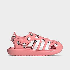 Girls' Little Kids' adidas Swimming Minnie Mouse Water Sandals