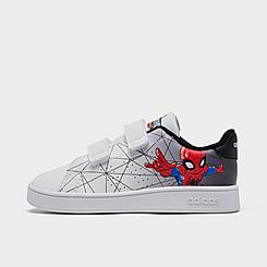 Boys' Toddler adidas Essentials Advantage Spiderman Stay-Put Closure Casual Shoes