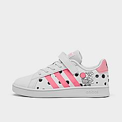 Girls' Little Kids' adidas x Disney Minnie Mouse Grand Court Casual Shoes
