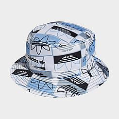 adidas Originals Allover Print Logo Bucket Hat