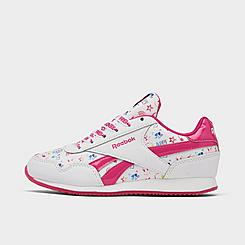 Girls' Little Kids' Reebok Printed Royal Classic Jogger 3 Casual Shoes