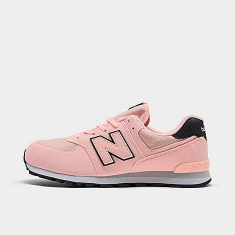 New Balance NEW BALANCE GIRLS' BIG KIDS' 574 CASUAL SHOES SIZE 3.5 SUEDE