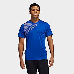 Men's adidas FreeLift Badge of Sport Graphic T-Shirt
