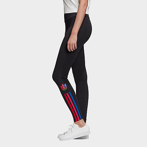 ADIDAS ORIGINALS ADIDAS WOMEN'S ORIGINALS ADICOLOR 3D TREFOIL LOGO TIGHTS