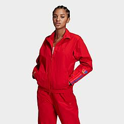 Women's adidas Originals Adicolor 3D Trefoil Track Jacket