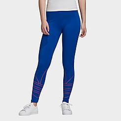 Women's adidas Originals Adicolor Large Logo Leggings