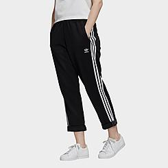 Women's adidas Originals Primeblue Relaxed Boyfriend Cuffed Sweatpants
