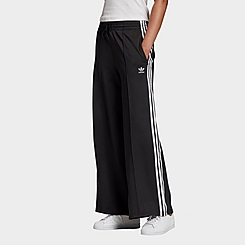 Women's adidas Originals Primeblue Relaxed Wide Leg Sweatpants