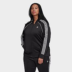 Women's adidas Originals Primeblue SST Track Jacket (Plus Size)