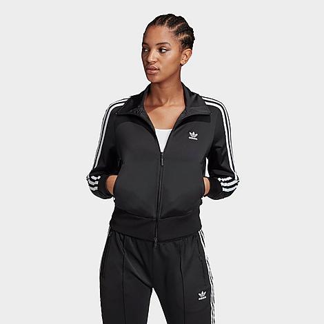Adidas Women's Originals Firebird Track Jacket in Black Size X-Small 100% Polyester thumbnail