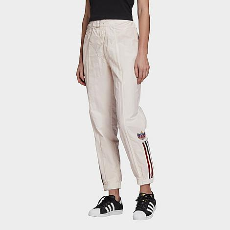 Adidas Originals Adidas Women's Originals Paolina Russo Belted Nylon Jogger Pants In White