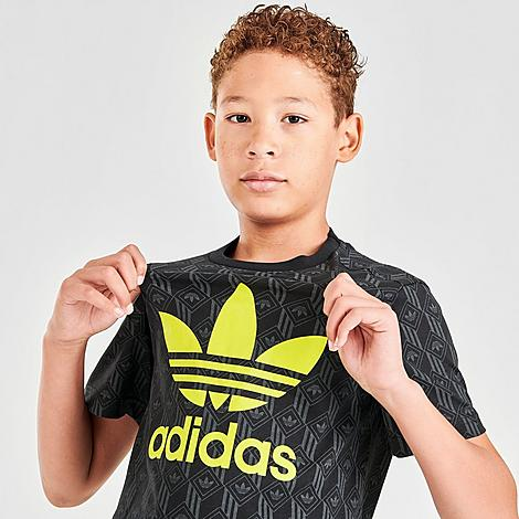 Adidas Originals ADIDAS KIDS' ORIGINALS AOP TREFOIL T-SHIRT