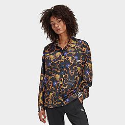 Women's adidas Originals Printed Shirt Jacket