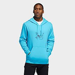 Men's adidas Originals Lil' Stripe Basketball Hoodie