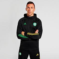 Men's adidas Celtic FC Soccer 3-Stripes Hoodie