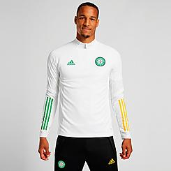 Men's adidas Celtic FC Soccer Half-Zip Training Top