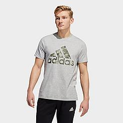 Men's adidas Essentials Continental Camo Graphic T-Shirt