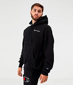 Men's Champion Reverse Weave Embroidered Logo Hoodie