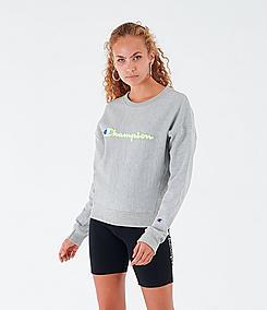 Women's Champion Reverse Weave Crewneck Sweatshirt