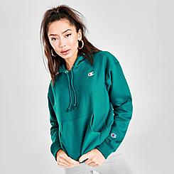 Women's Champion Reverse Weave Small Logo Hoodie