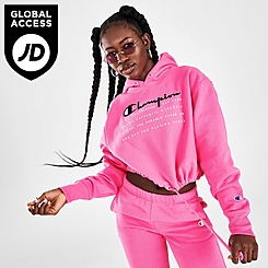 Women's Champion Cinch Crop Hoodie