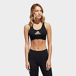 Women's adidas Don't Rest Alphaskin Medium-Support Sports Bra
