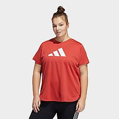 Women's adidas Badge Of Sport Training T-Shirt (Plus Size)
