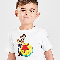 Kids' Toddler adidas Woody x Luxo Basketball Toy Story T-Shirt