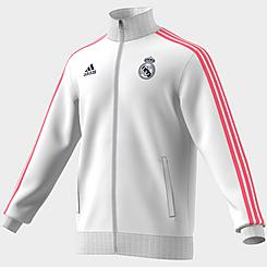 Men's adidas Real Madrid Soccer 3-Stripes Track Jacket