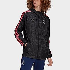 Men's adidas Real Madrid Soccer Windbreaker Jacket