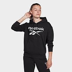 Women's Reebok Identity Logo French Terry Hoodie