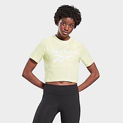 Women's Reebok Identity Cropped T-Shirt