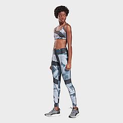 Women's Reebok Studio Lux Bold Printed Training Leggings