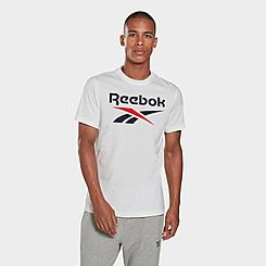Men's Reebok Graphic Series Stacked T-Shirt