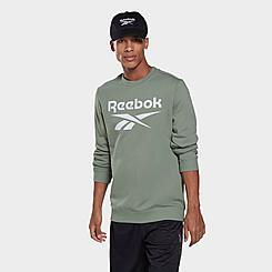 Men's Reebok Identity Big Logo Crewneck Sweatshirt